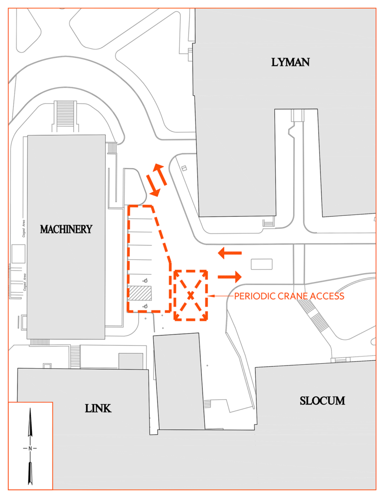 SU Ambulance Parking Cover Staging Map